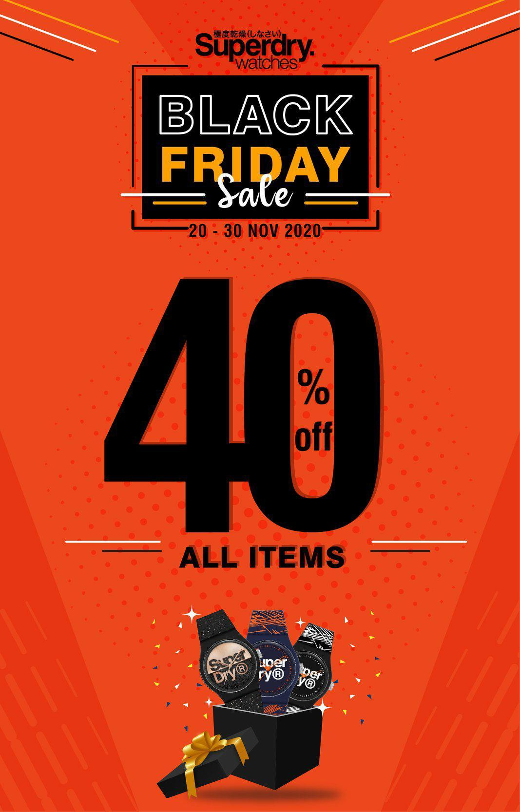 Black Friday 40% គ្រប់ម៉ូដ🖤🖤🖤