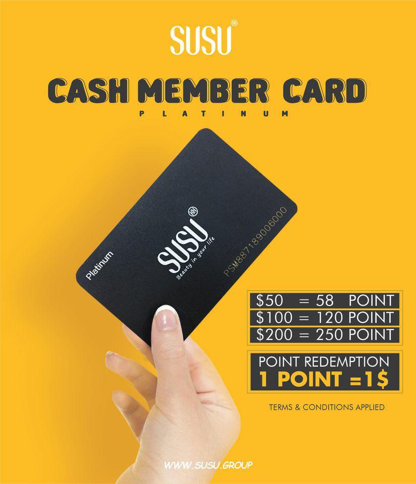 Cash Member Card