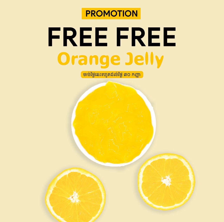 ថ្មី! Free! Orange Jelly !!