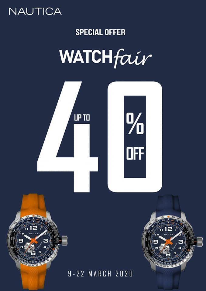 Promotion Watch Fair បានមកដល់ទៀតហើយ