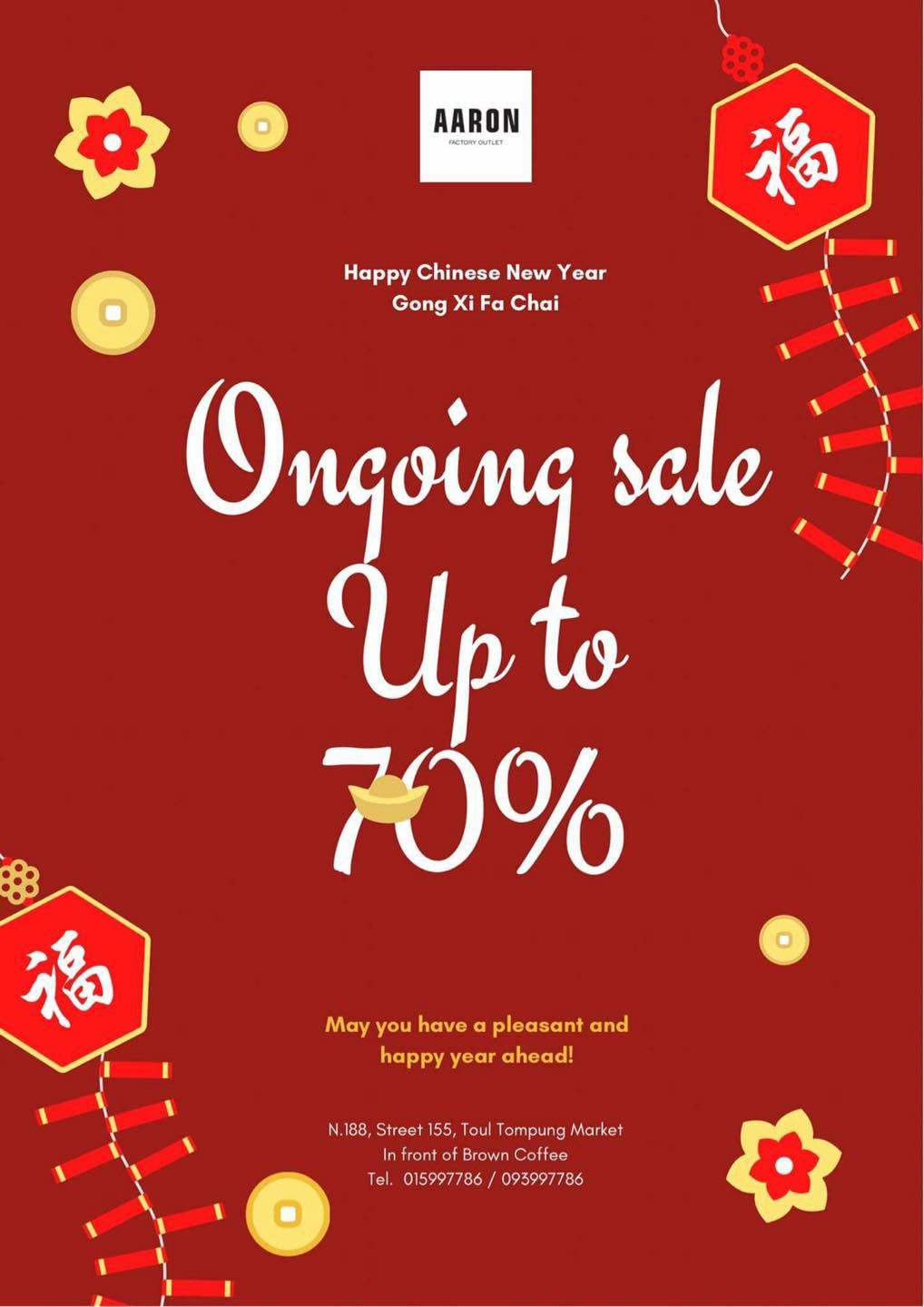 Discount 10% up to 70%