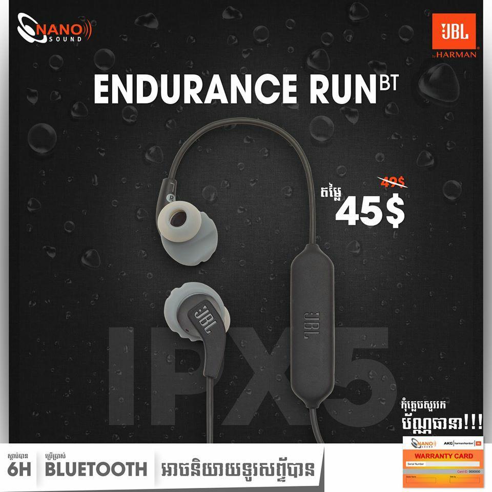 BL Endurance Run BT ជាប្រភេទកាសប៊្លូធូស