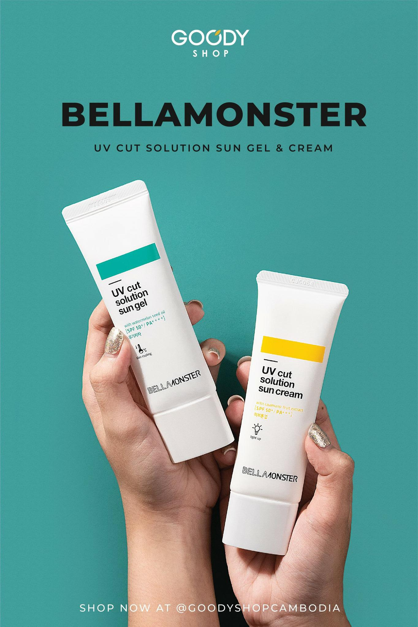 Bellamonster UV Cut Solution Sun Gel